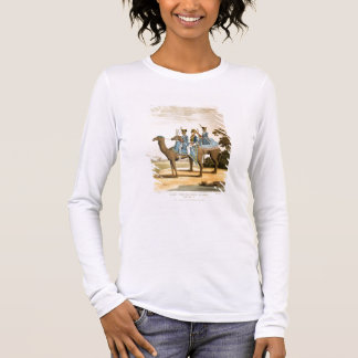 Rocket Corps and Dromedary Corps, Bengal Army 1817 Long Sleeve T-Shirt