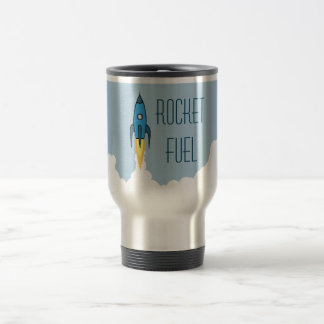 Rocket Fuel 15 Oz Stainless Steel Travel Mug