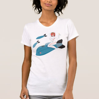 Rocket Girl Close Up Tee