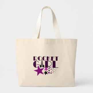 Rocket Girl Jumbo Tote Bag