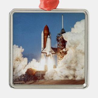 Rocket Launch 2 Christmas Ornament