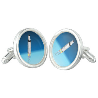 Rocket Launched Cuff Links
