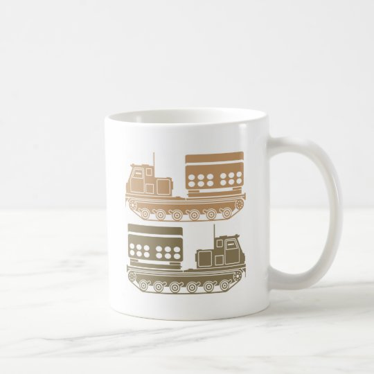 Rocket launcher military coffee mug