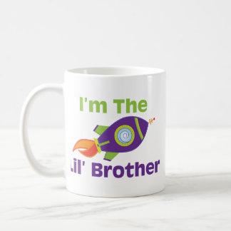 Rocket Lil Bro Basic White Mug