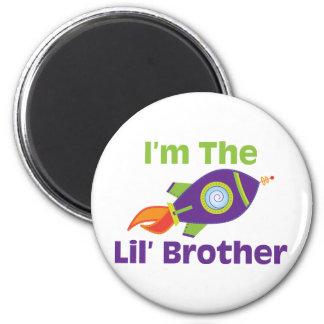 Rocket Lil Bro Fridge Magnet