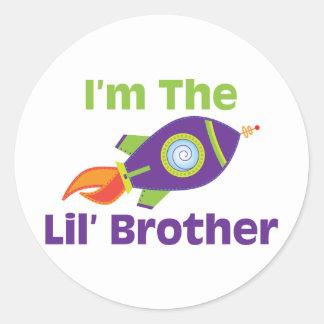 Rocket Lil Bro Stickers