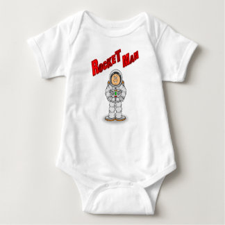 Rocket Man Baby Bodysuit
