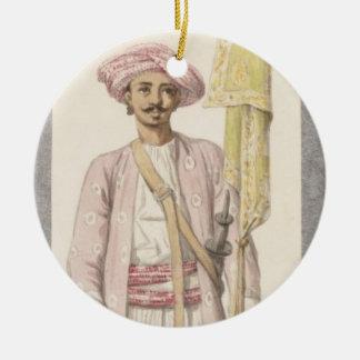 Rocket Man of Tipoo Sultan (1750-99), c.1793-4 (w/ Round Ceramic Decoration