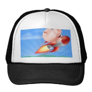 Rocket Piggy Bank Trucker Hat