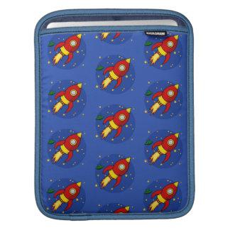 Rocket red iPad Sleeves