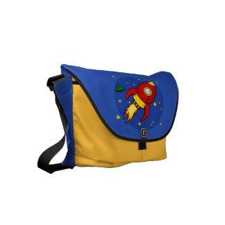 Rocket red Messenger Bag