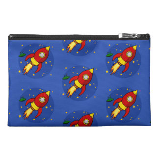 Rocket red pattern Accessory Bag