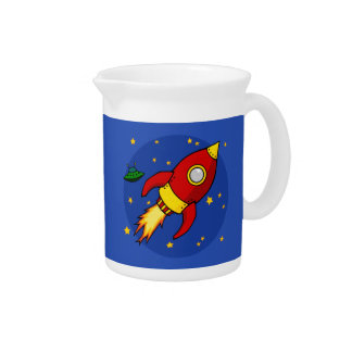 Rocket red Pitcher