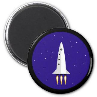 Rocket Science 6 Cm Round Magnet