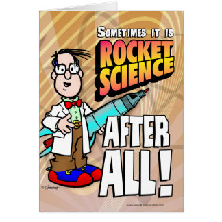 Rocket Science Card