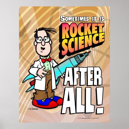 Rocket Science Poster