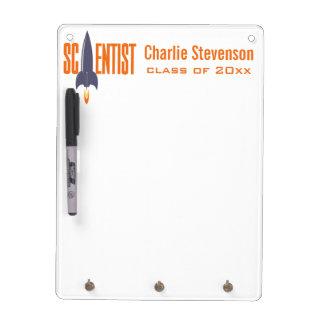 Rocket Scientist custom name & class year board