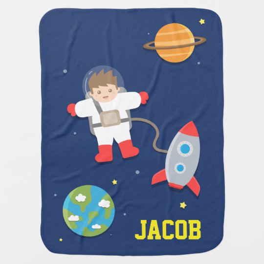 Rocket Ship, Astronaut, Outer Space, For Babies Baby