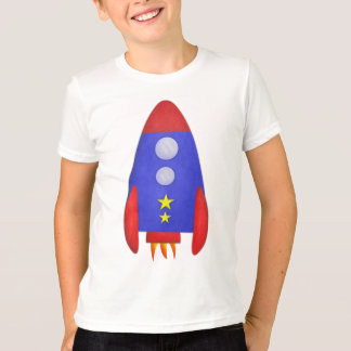 Rocket Ship Kids' Shirt