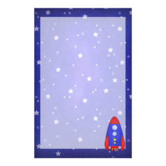 Rocket Ship Stationary Stationery