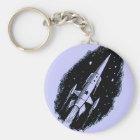 Rocket Ship X-11 Key Ring