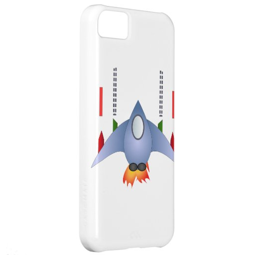 Rocket Shower Party Birthday Celebration Destiny Cover For iPhone 5C