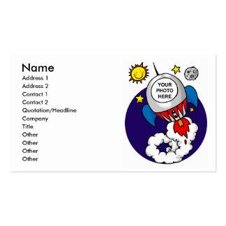 rocket space scientist pack of standard business cards
