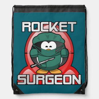 ROCKET SURGEON DRAWSTRING BAG