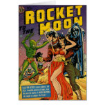 Rocket to the Moon Comic Cards