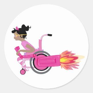 Rocketchair Sticker