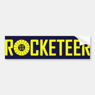Rocketeer sticker bumper stickers