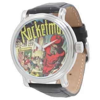 Rocketman vintage comics watches