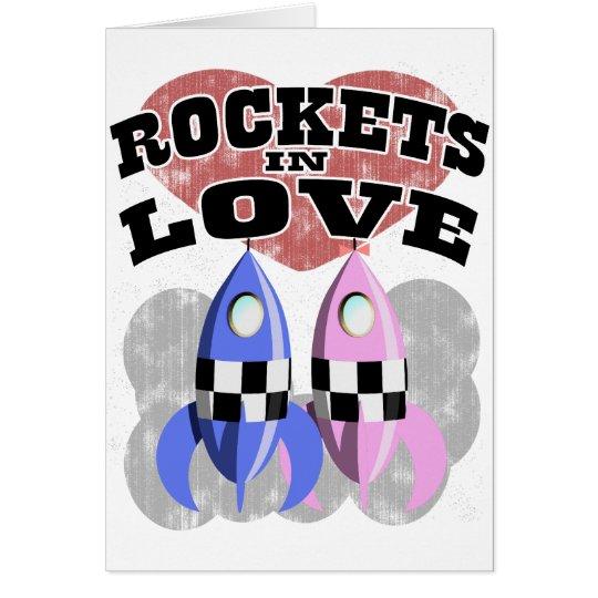 Rockets In Love Card