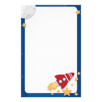 Rocketship Stationery