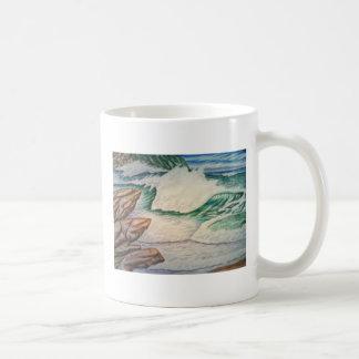 rockey seascape coffee mugs