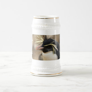 Rockhopper Penguin  Beer Stein