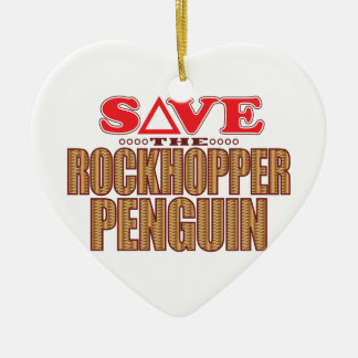 Rockhopper Penguin Save Christmas Ornament