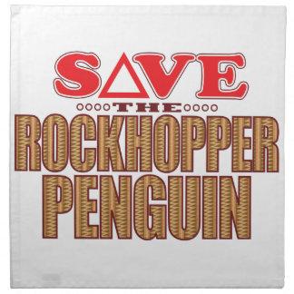 Rockhopper Penguin Save Napkin