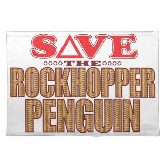 Rockhopper Penguin Save Placemat