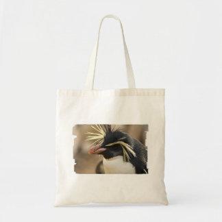 Rockhopper Penguin Small Tote Bag