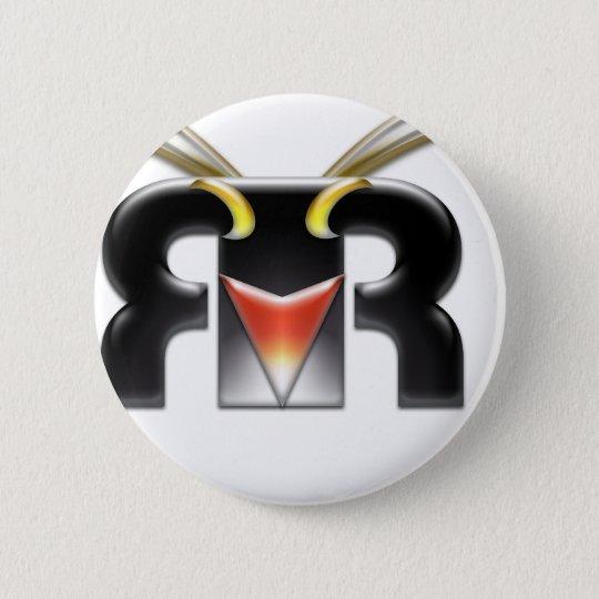Rockhopper VFX logo 6 Cm Round Badge