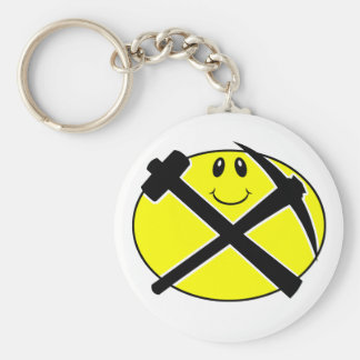 Rockhound Smiling Face Key Chain
