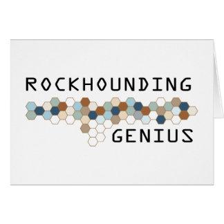 Rockhounding Genius Greeting Cards