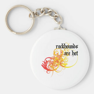 Rockhounds Are Hot Keychain