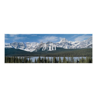 Rockies mountains poster