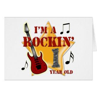 Rockin' Age 1 Card