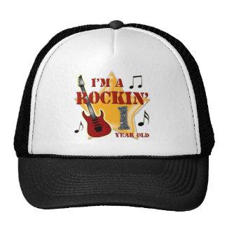 Rockin Age 1 Trucker Hats