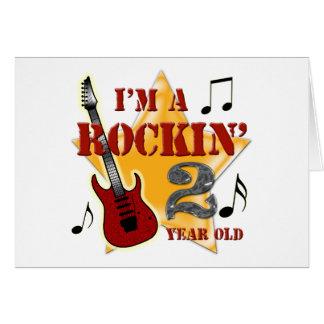 Rockin' Age 2 Note Card