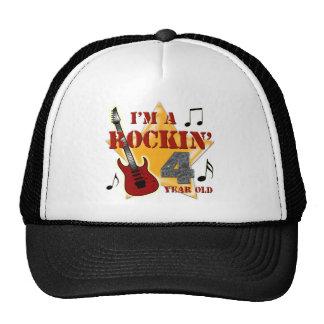 Rockin Age 4 Hats