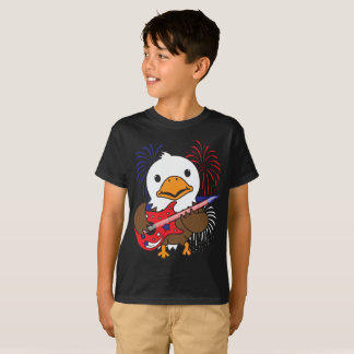 Rockin Bald Eagle T-Shirt